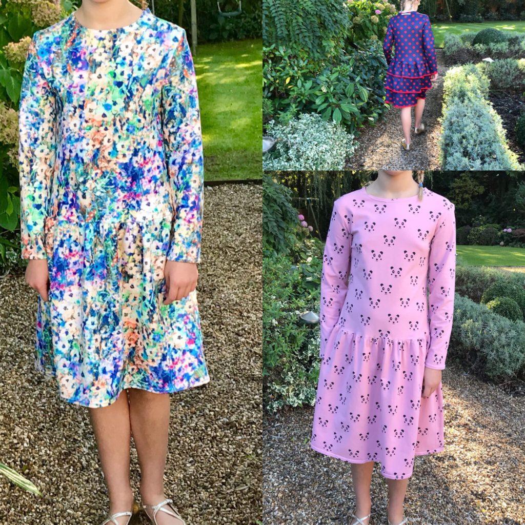 robe babydoll-cousu-main-p&m-patterns