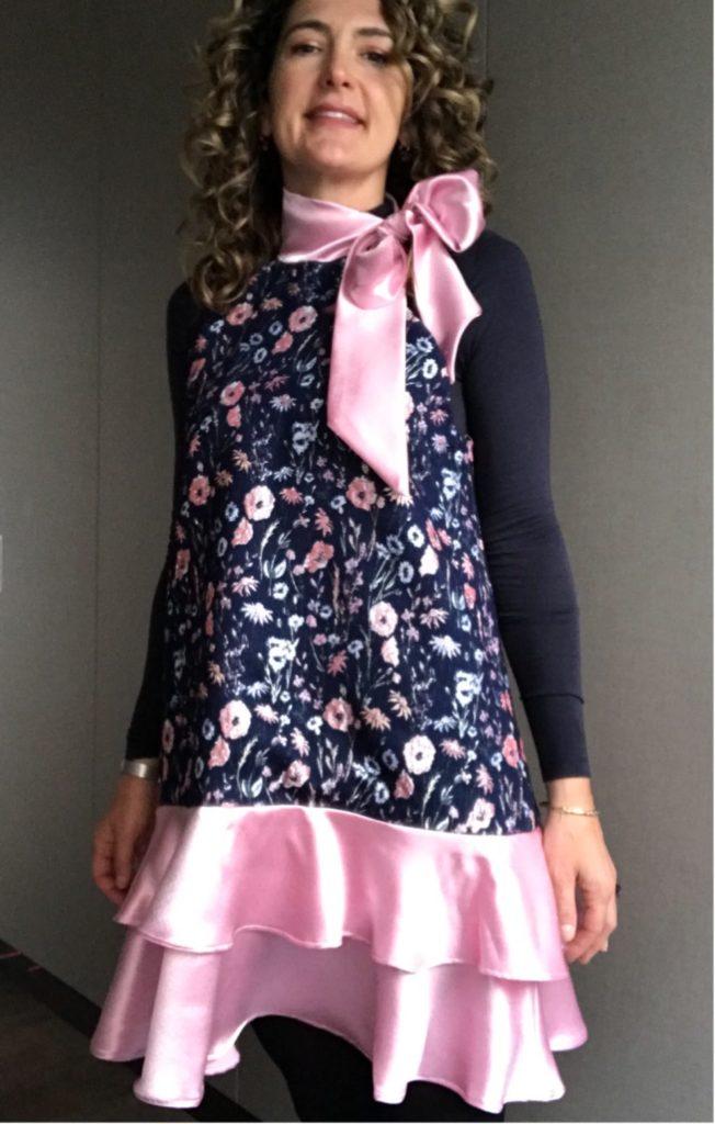 Handmade-McCall-M7995-dress-pink-ruffles