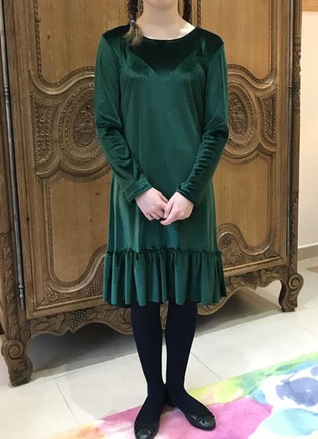 robe-cara-maison-victor-velour-vert-six-mignons