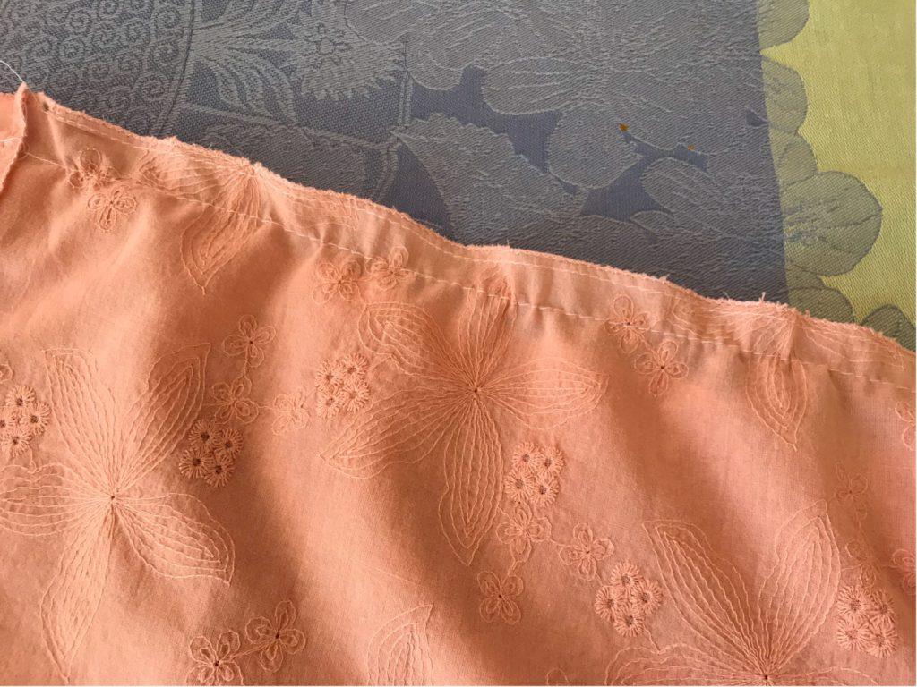 Influence à Smocks Robe Encolure Carrée en rouille Broderie Taille 10,12 /& 22 EL23 nouveau